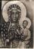 Obraz Matki Boskiej Częstochowskiej w parafii Gorawino