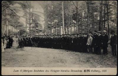 1906, obchody 10-lecia Zwiazku Wojennego