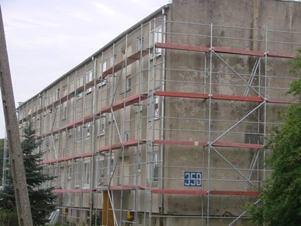 Remont bloków w Gorawinie