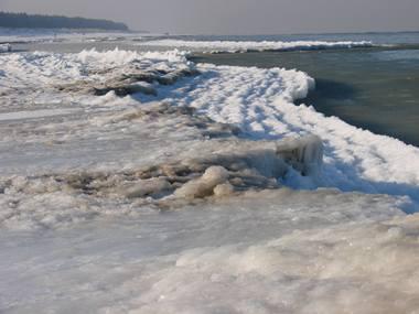 Morze zamarza!