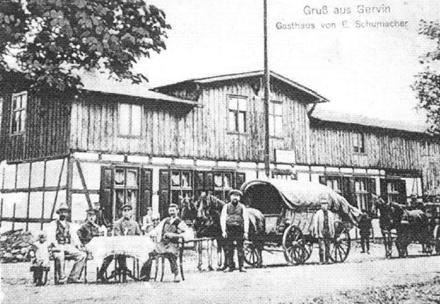 Gorawino przed 1945 r, gospoda (Gasthaus)