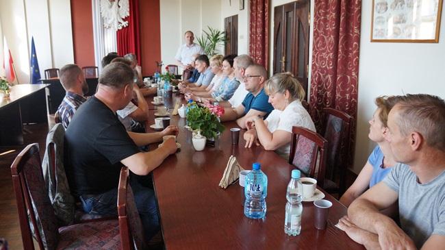 Oglądasz obraz z artykułu: Spotkanie SH Dębosz w Urzędzie Gminy Rymań