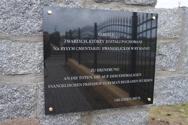 Oglądasz obraz z artykułu: Lapidarium w Rymaniu otwarte