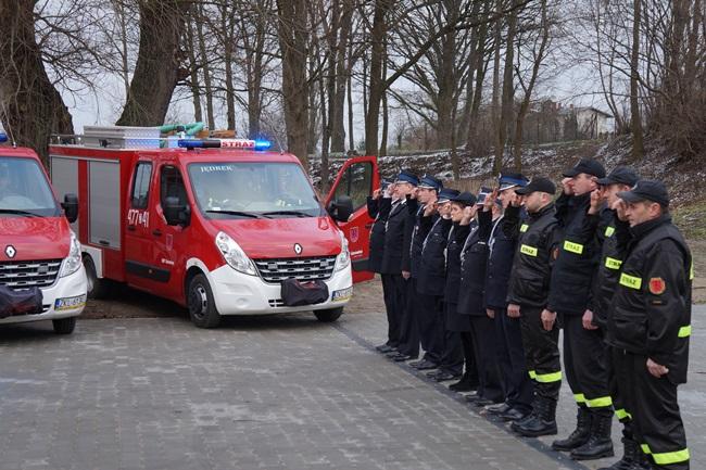 Oglądasz obraz z artykułu: Strażacy gminy Rymań przeciwko przemocy i nienawiści