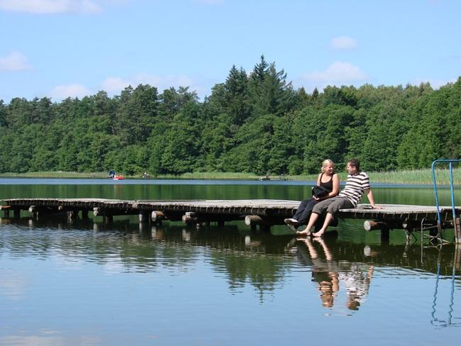 Oglądasz obraz z artykułu: Lato nad jeziorem Popiel
