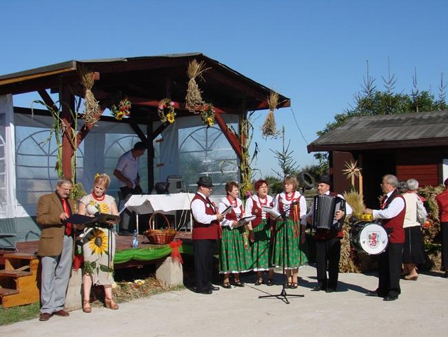 Oglądasz obraz z artykułu: Dożynki 2013 Gminy Rymań w Gorawinie