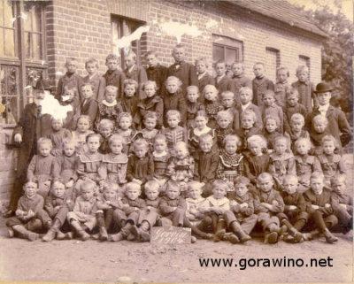 Gorawino, szkoła 1904 r.